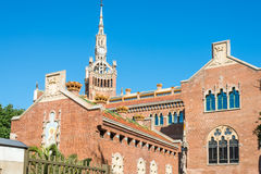 Hospital de la Santa Creu i Sant Pau Stock Photography