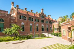 Hospital de la Santa Creu i Sant Pau Royalty Free Stock Photos