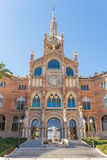 The Hospital de la Santa Creu i Sant Pau Royalty Free Stock Photography