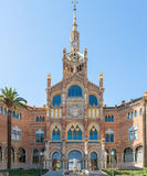 The Hospital de la Santa Creu i Sant Pau Royalty Free Stock Image