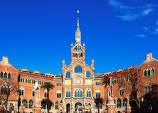 Hospital de la Santa Creu i Sant Pau Royalty Free Stock Photography