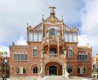 Hospital de la Santa Creu, Sant Pau-Unesco World Heritage Barcelona, Spain Stock Images