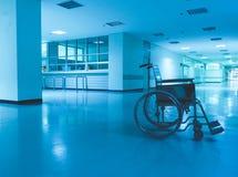 Hospital de la silla de ruedas imágenes de archivo libres de regalías