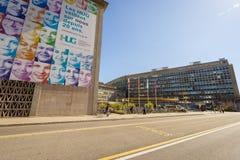 Hospital de la universidad de Ginebra Imágenes de archivo libres de regalías
