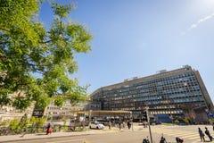 Hospital de la universidad de Ginebra Imagenes de archivo