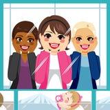 Hospital de maternidade das mulheres ilustração royalty free