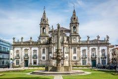 Hospital de São Marcos a Braga Portogallo Fotografia Stock Libera da Diritti