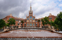 Hospital de Sant Pau Image stock