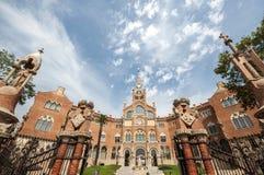 Hospital de Sant Pau, Barcelona, España, septiembre de 2016 Foto de archivo