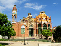 Hospital de Sant Pau in Barcelona Royalty Free Stock Photo