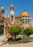 Hospital de Sant Pau in Barcelona Stock Photo