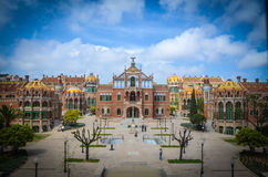 Hospital de Sant Pau Royalty Free Stock Images