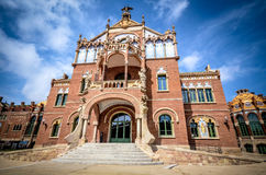 Hospital de Sant Pau Stock Photography
