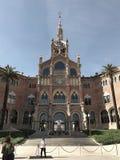 Hospital de Sant Pau stock photography