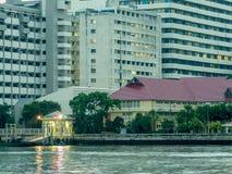Hospital de Sirirja en Bangkok, Tailandia foto de archivo