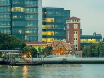 Hospital de Sirirja en Bangkok, Tailandia imagen de archivo libre de regalías