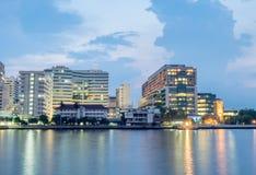 Hospital de Sirirja en Bangkok, Tailandia fotos de archivo