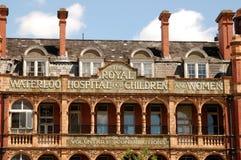Hospital del puente de Waterloo Foto de archivo