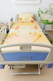 Hospital delivery room bed Stock Photo
