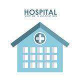 Hospital design Royalty Free Stock Image