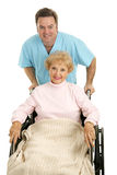 Hospital Discharge stock image
