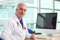 Hospital doctor Stock Images