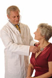 Hospital Doctor with patient Royalty Free Stock Images