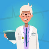 Hospital Doctor Poster Stock Image