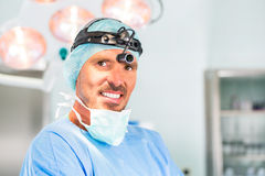 Hospital - doctor or surgeon in operating room Stock Photos