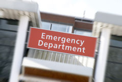 Hospital emergency Royalty Free Stock Photo