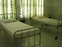 Hospital en los Maldives Fotos de archivo libres de regalías