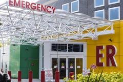 Hospital Entrance Signage Stock Images