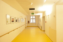 Hospital floor Royalty Free Stock Photography