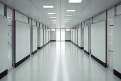 Hospital Floor Royalty Free Stock Image