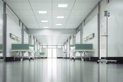 Hospital Floor. Empty hospital floor - High quality render Stock Photography