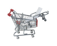 Hospital Gurney in a Shopping Cart Stock Photos