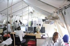 Hospital haitiano. Fotos de archivo libres de regalías
