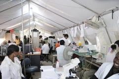 Hospital haitiano. Fotografía de archivo