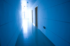 Hospital hallway Stock Image