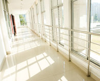 Hospital hallway Royalty Free Stock Photos