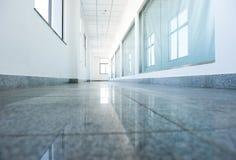 Hospital hallway Stock Photo