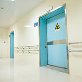 Hospital hallway Royalty Free Stock Photography