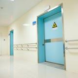 Hospital hallway royalty free stock photography
