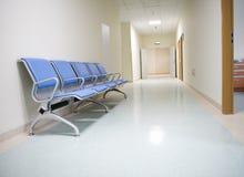Hospital hallway royalty free stock image