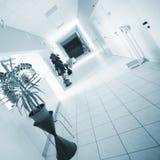 Hospital hallway Royalty Free Stock Photo