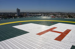 Hospital Helipad Stock Photos