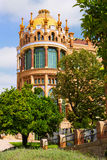 Hospital of  Holy Cross and Saint Paul in Barcelona Royalty Free Stock Photos