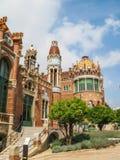 Hospital of  the Holy  Cross and  Saint  Paul  , Barcelona, Spain. Royalty Free Stock Photos