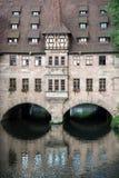Hospital of the Holy Spirit (Heilig-Geist-Spital) in Nuremberg c Stock Images