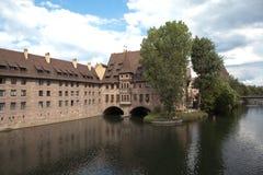 Hospital of the Holy Spirit. Nuremberg. Germany. Stock Photos